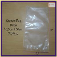 Vacuum Bag 16,5X30 75Micron @100 Pcs