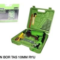 MESIN BOR SET RYU 10MM RDR 10-3 REB BOX TAS
