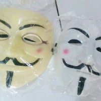 ACTION FIGURE TOPENG ANONYMOUS VENDETTA COSPLAY MASK 4756