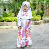 eLBi Maureen Dress - Setelan Baju Anak Perempuan - Gamis Balita 5-6thn