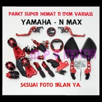 PAKET TERMURAH YAMAHA/ NMAX 11 ITEM ACCESORIES MOTOR