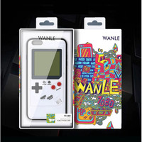 Wanle Original GameBoy Case For iPhone 6/6s/6+/7/7+/8/8+/Iphone X/Xs