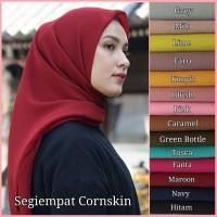 Hijab Segi 4 / Jilbab Segi Empat Polos / Kerudung Murah