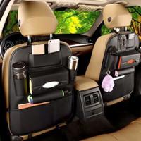 Car Seat Organizer Tas Belakang Jok Mobil Multifungsi Kulit Premium
