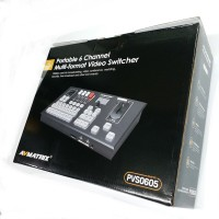 AVMATRIX PVS0605 6-CHANNEL HD SWITCHER + RECORDING