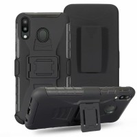 Casing SAMSUNG A20S FUTURE ARMOR WITH BELT CLIP HARD CASE