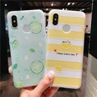 Casing Soft Case Desain Lemon Bahan TPU untuk Xiaomi Redmi Note 5 Pro