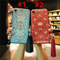 Case Samsung Galaxy Note 9 Note 8 S8 S9 Plus Case Palace Flower Tassel