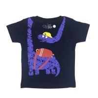 Kaos Anak - Anak | L065 Brontosaurus Tee by Litlle Jergio