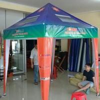 Ternama Tenda Cafe 2X3 / Tenda Piramid 2X3 / Tenda Jualan 2X3 (Hanya
