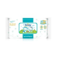 Paling Terlaris Sweety Baby Wipes Perfumed 80 Free 4S
