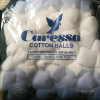 Terlaris Kapas Caressa Bola Cotton Ball