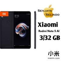 Xiaomi Redmi Note 5 Pro 3Gb/32Gb Black Garansi Distributor 1 Tahun