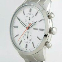 JAM TANGAN FOSSIL Townsman Chronograph White Dual FS5346