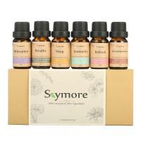 Terlaris Skymore Top 6 Essential Oil Blend Gift Set Aromatherapy