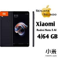 Xiaomi Redmi Note 5 Pro 4Gb/64Gb Black Garansi Distributor 1 Tahun