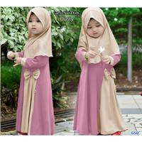 gamis nana kids dusty/dress gamis syari anak perempuan/baju muslim ana