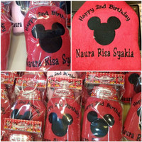 Handuk bordir mickey 30rb