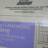 makanan kucing whiskas sachet pouch dus box 24 junior tuna mackerel