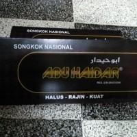 Peci Songkok Abu Haidar AC Hitam Polos
