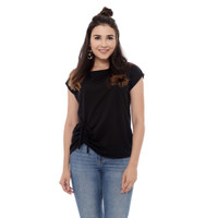Yoenik Apparel Basic Confy Top Black M11645 R6S7