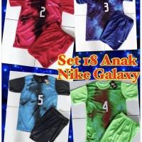 Kaos baju jersey sepak bola dan futsal anak NIKE GALAXY 1 set