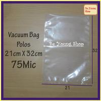 Vacuum Bag 21X32 75Micron @100 Pcs