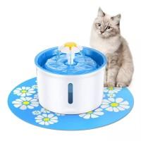 "Tempat Minum Anjing Kucing "" PET WATER FOUNTAIN FLOWER "" Otomatis"