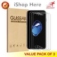3 Buah Premium Tempered Glass / Anti Gores Bening iPhone 5 5S 5C 5SE