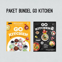 Paket Bundel Go Kitchen/Go Kitchen 2/Buku Resep Masakan/Best Seller