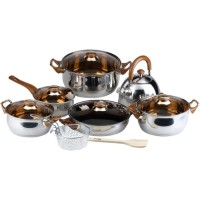 Eco Cookware Set Panci Stainless Oxone OX-933 / Stainless Pan