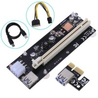 Usb 3.0 Pci-E Pci Express Riser Card 1X To 16X Vga Riser