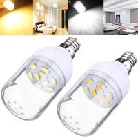 Top Brand E12 150LM 2W White/Warm White 9 SMD 5630 LED Corn Bulb