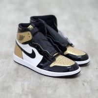 Nike Air Jordan 1 Gold Toe 100% Authentic