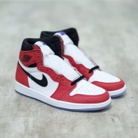 Nike Air Jordan 1 Retro HI Spiderman Chicago 100% Authentic