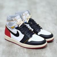 LA x Nike Air Jordan 1 High Black Toe 100% Authentic