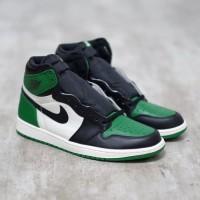 Nike Air Jordan 1 High Pine Green 100% Authentic