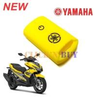 TERLARIS for Aksesoris Silicon Remote Cover Sarung kunci motor Yamaha