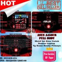 HOT SALE Promo Garskin Laptop Full Body Asus A456U Motif IronMan -Free