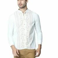 Baju Muslim pria gride white