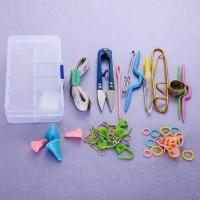 Alat Rajut Jahit Knitting Set Alat Rajut + box