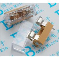 Fuse Holder Cover Box 5x20 High Quality Socket Tempat Dudukan Fuse