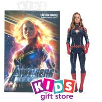 Avengers Kapten Marvel Super Hero Doll - Mainan Figur