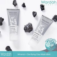 WARDAH NATURE DAILY MINERAL + CLARIFYING CLAY MASK 60 ML