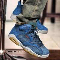 "Nike Air Jordan 6 Levis Denim"" Premium Quality"
