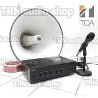 Paket TOA SOUND SYSTEM AMPLI + Corong TOA