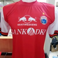 Jersey Persija Home Piala Presiden 2019 Merah Printing Terbaru Lokal