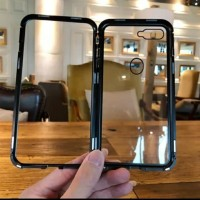 Case Magnet magnetic Anti Baret 2in 1 casing Cover For oppo f7