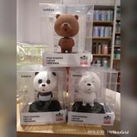 bears parfum JAPAN MINISO car head mobil freshner bare shaking lucu ai