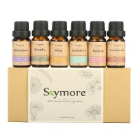 New Skymore Top 6 Essential Oil Blend Gift Set Aromatherapy